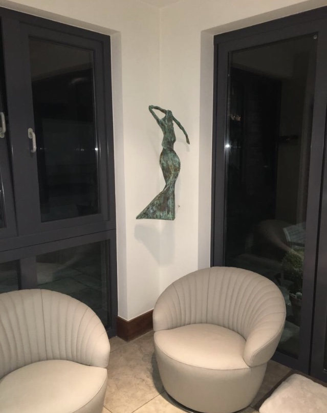 'Midnight on the Hill' in Client's Home
