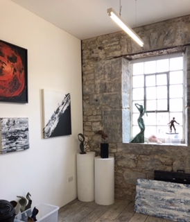 New Studio in Royal William Yard, Plymouth