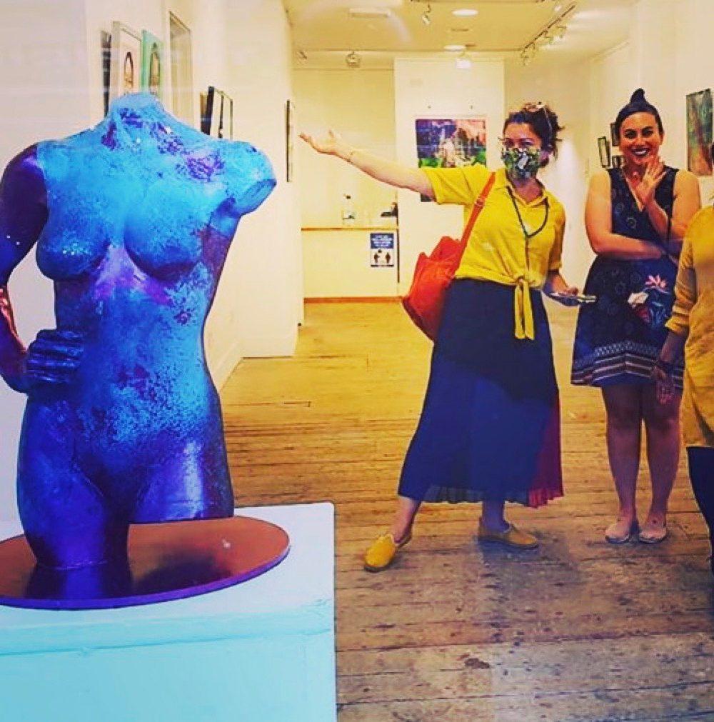 Venus Kallipygos at Espacio Gallery, London